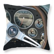 Corvette Dash Throw Pillow