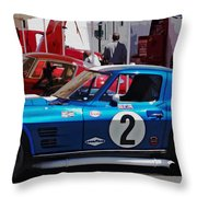 Corvette Grand Sport 1963 Throw Pillow