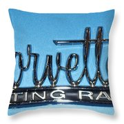 Corvette Sting Ray Throw Pillow