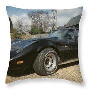 Corvette Stingray C3 Throw Pillow