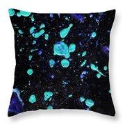 Cosmic Activity 3x Throw Pillow