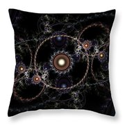 Cosmic Clockworks Throw Pillow