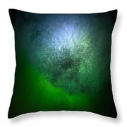 Cosmic Cloud Throw Pillow