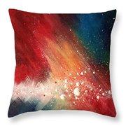 Cosmic Disturbance Throw Pillow
