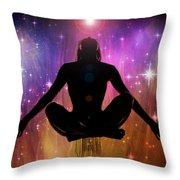 Cosmic Enlightenment... Throw Pillow