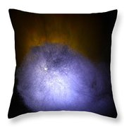 Cosmic Fireball Throw Pillow