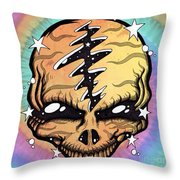Cosmic Head Throw Pillow