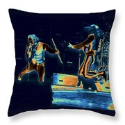 Cosmic Ian And Leaping Martin Throw Pillow
