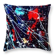 Cosmic Journey Throw Pillow