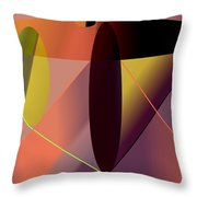 Cosmic Lifecircuits Throw Pillow