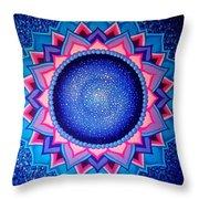 Cosmic Mandala  Throw Pillow