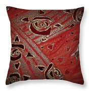 Cosmic Melody Throw Pillow