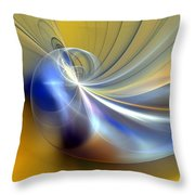 Cosmic Shellgame Throw Pillow