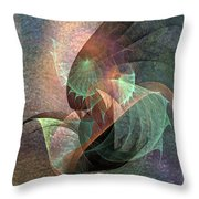 Cosmic Tundra Throw Pillow