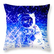 Cosmic Wonders Cropped Throw Pillow