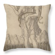 Cosmico (genius Of The World) Throw Pillow
