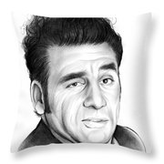 Cosmo Kramer Throw Pillow