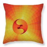 Cosmogenesis Throw Pillow
