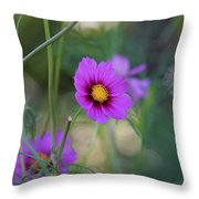 Cosmos Fairies Throw Pillow