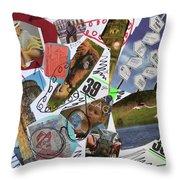 Costa Del Sol Throw Pillow