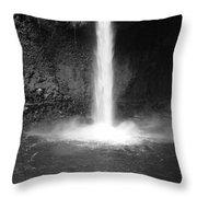 Costa Rica Waterfall Throw Pillow