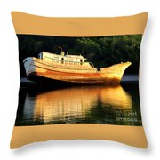 Costa Rica Wreck 4 Throw Pillow