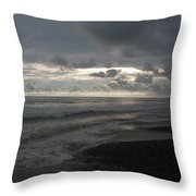 Costal Sunset Throw Pillow