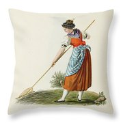 Costumes And Costumes Throw Pillow