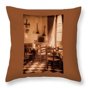 Cosy Corner Throw Pillow