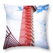 Cota Towering Tower  Throw Pillow