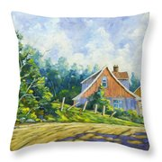 Cote Ste Anne De Beaupre Throw Pillow