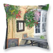 Cotswold Arms Special Throw Pillow