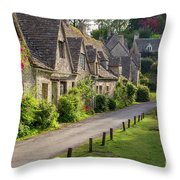 Cotswolds Homes Throw Pillow