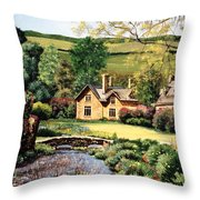Cotswolds Throw Pillow