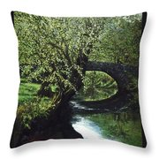 Cotswolds Scene 1 Throw Pillow