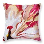 Cotton Candy Veggie-licous Throw Pillow