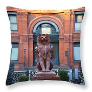 Cotton Exchange Building In Savannah  Throw Pillow