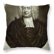 Cotton Mather 1663-1728 Throw Pillow