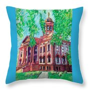 Cottonwood County Courthouse  Throw Pillow