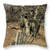 Cottonwood Stand Throw Pillow