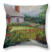 Cottswold Cottage Throw Pillow