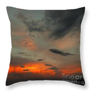 Couds Throw Pillow