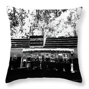 Cougar Express Throw Pillow
