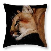 Cougar Throw Pillow