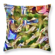 Could Cezanne Be Any Prouder Throw Pillow