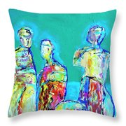 Council Of Elders Throw Pillow