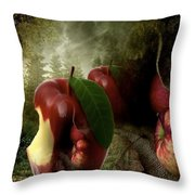 Country Apple 2 Throw Pillow