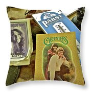 Country Auction Throw Pillow
