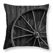 Country Barn Throw Pillow