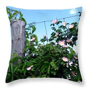 Country Calm Throw Pillow